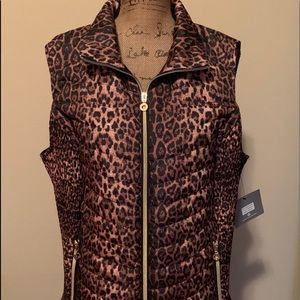 Gorgeous animal print plus vest-NWT!